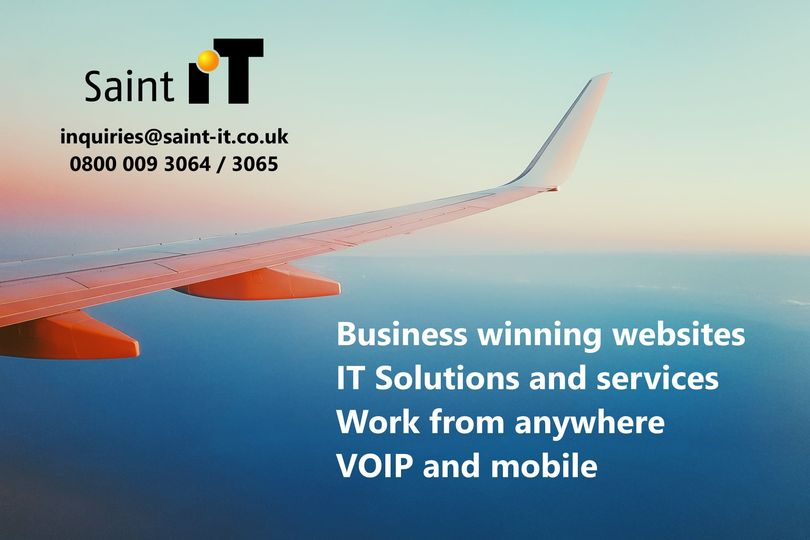 Fly Ahead with Saint IT | Business Winning Websites
